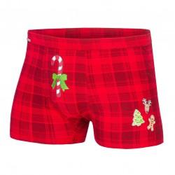 Bokserki Candy Cane 017/42 Merry Christmas Cornette