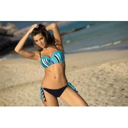 Kostium kąpielowy Melissa Bluebery + Baia M-288 niebieski (196)
