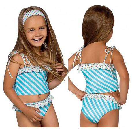 L-40 Strój kąpielowy dziecięcy dziewczęcy