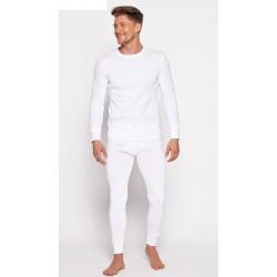 Kalesony męskie 4862-1J Białe Henderson bawełna