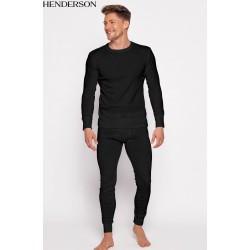 Kalesony męskie 4862-41J Czarne Henderson bawełna
