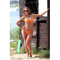 Kostium kąpielowy Cathy M-048 Orange (Pomarańczowy)