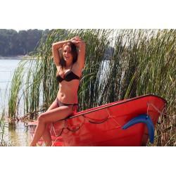 Kostium kąpielowy Emma M-013 Brown (Brązowy)