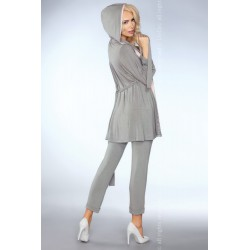 Szlafrok Mimi 100 Grey (Szary)