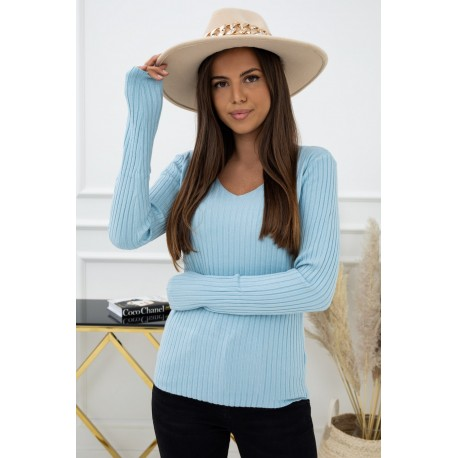 Sweter Daily ZB94598 Sky Blue