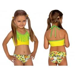 Strój kąpielowy dwuczęściowy bikini dla dziewczynki, dziewczęcy L-41