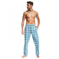 Spodnie piżamowe męskie 691/02 601701 niebieskie