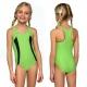 Strój kąpielowy dziewczęcy L-20 zielony