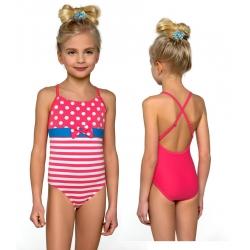 Strój kąpielowy jednoczęściowy dla dziewczynki, dziewczęcy DB-3