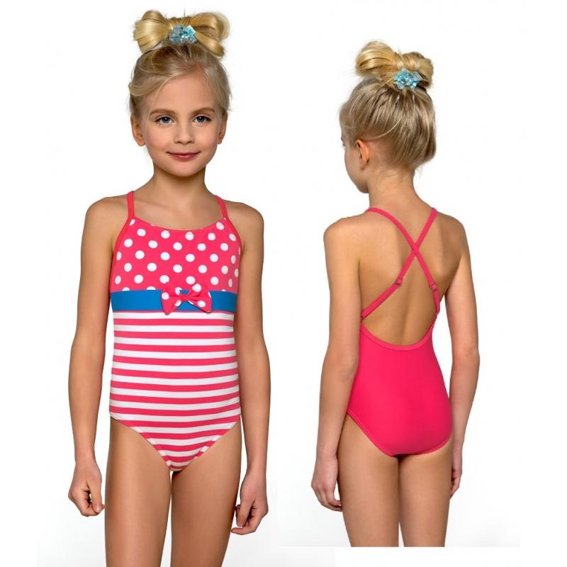 e3c80a94633e14 Strój kąpielowy jednoczęściowy dla dziewczynki, dziewczęcy DB-3 ...