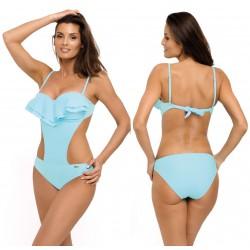 Kostium kąpielowy M-548/3 strój monokini błękit