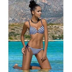 Strój kąpielowy trzyczęściowy bikini push-up L-5339 v.1 NIKA