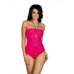 Strój kostium kąpielowy jednoczęściowy L-7308 v.2 ELLA, różowy