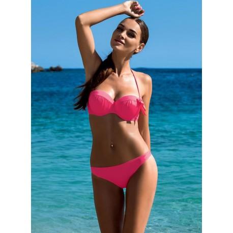Strój kostium kąpielowy L-3185 v.1 DONATA różowy