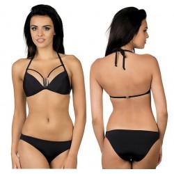 Strój kąpielowy dwuczęściowy bikini push-up L-1019/6, v.1 czarny