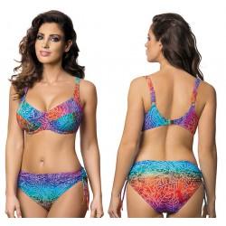 Strój kąpielowy dwuczęściowy bikini z miękką miską na fiszbinach L-5400 v.1 ISABELLA