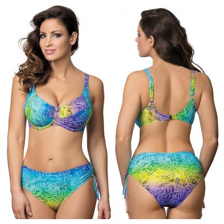 Strój kąpielowy dwuczęściowy bikini z miękką miską na fiszbinach L-5400 v.2 ISABELLA