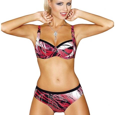 Strój kąpielowy dwuczęściowy bikini na fiszbinach L-6021/c