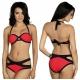 Strój kąpielowy dwuczęściowy bikini push-up L-5423 v.1