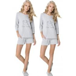 Piżama damska Sweet Bear Short Aruelle Homewear