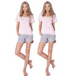 Piżama damska Wild Look Short Aruelle Homewear