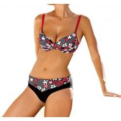 Strój kąpielowy dwuczęściowy bikini ze sztywną miską L-5194 FELINA,