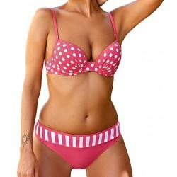 Strój kąpielowy 5200/2 kostium różowy