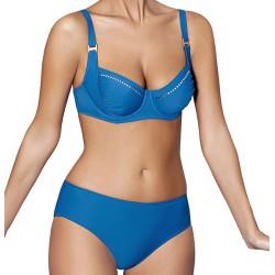 Strój kąpielowy dwuczęściowy bikini na fiszbinach L-6116 GRAN CANARIA, niebieski