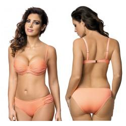 Strój kąpielowy dwuczęściowy bikini push-up L-5417 v.1 MIRIAM, morelowy