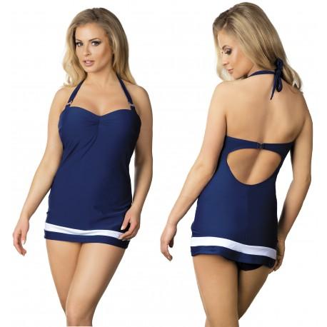 Strój kąpielowy jednoczęściowy modelujący sukienka L-4022/6