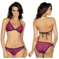 Strój kąpielowy bikini L-1009/6 v.1, różowy