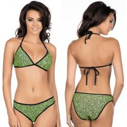 Strój kąpielowy bikini L-1009/6 v.2, zielony