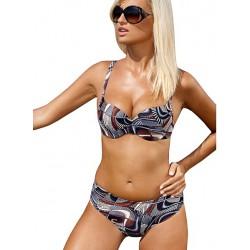 Strój kąpielowy dwuczęściowy bikini ze sztywną miską L-5195