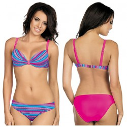 Strój kąpielowy dwuczęściowy bikini push-up L-5421 v.2