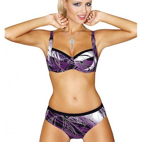 Strój kąpielowy dwuczęściowy bikini na fiszbinach L-6021/f