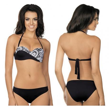 R-5013 Strój kąpielowy bikini ze sztywną miską