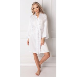 Szlafrok damski Classy White Aruelle Homewear