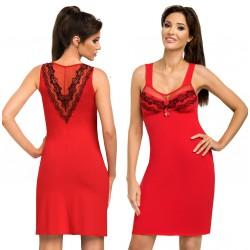 Koszulka nocna Jasmine Red wiskoza Donna