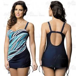 Strój kąpielowy jednoczęściowy sukienka L-7339 v.2