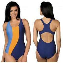 Kostium kąpielowy jednoczęściowy basenowy sportowy L-4004 v.5 LO-2