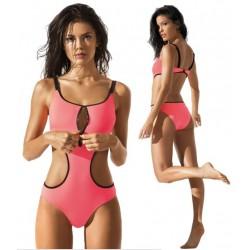 Strój kąpielowy kostium monokini R-7001 koral