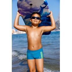 Kąpielówki spodenki chłopięce - bokserki dla chłopca CB-4, niebieskie