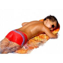 Kąpielówki spodenki chłopięce CB-7 czerwone