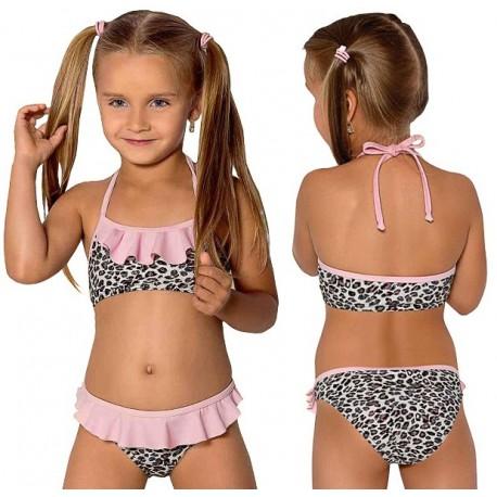 Strój kąpielowy dla dziewczynki dziecięcy L-37