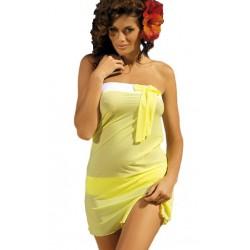 Tunika plażowa Mia Lime M-241/311 Żółta