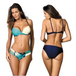 Kostium kąpielowy Kate Blu Scuro-Avorio-Martinica M-410 (1)