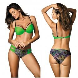 Kostium kąpielowy Samantha Bright Green M-407 (1)
