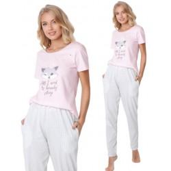 Piżama damska Trixie Long Aruelle Homewear