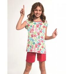 Piżama Cornette Kids Girl 357/79 Cactus kr/r 86-128