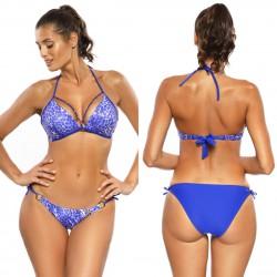 Kostium kąpielowy M-573/3 strój push-up fiolet